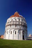 The San Giovanni baptistry in Pisa