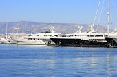stock photo of piraeus  - Piraeus Marina in Athens - JPG