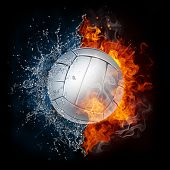 stock photo of volleyball  - Volleyball Ball - JPG