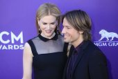 LAS VEGAS - APR 1: Nicole Kidman,Keith Urban at the 47th Annual Academy Of Country Music Awards held