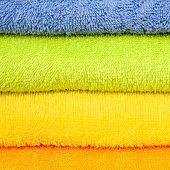 color convolute towels