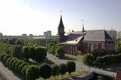 Panoramic View Of Kaliningrad City Russia