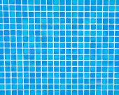 Blue Swimming Pool Mosaic