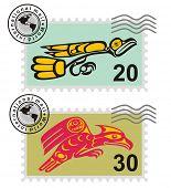 Postmark Mythological image eagle