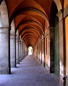 Archway In Bologna