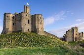 Warkworth Castle In Spring