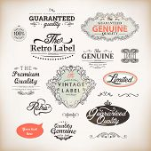 vector set: calligraphic design elements and page decoration, Premium Quality and Satisfaction Guara
