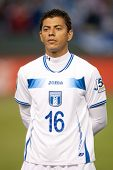 CARSON, CA - JUNE 6: Honduras D Mauricio Sabillon #16 before the 2011 CONCACAF Gold Cup group B game on June 6, 2011 at the Home Depot Center in Carson, CA.