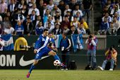 CARSON, CA. - JUNE 6: Guatemala M Marco Papa #16 during the 2011 CONCACAF Gold Cup group B game on J