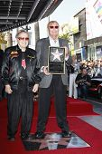 LOS ANGELES, CA - APR 5: George Barris, Adam West at a ceremony where Adam West is honored with a star on the Hollywood Walk of Fame on April 5, 2012 in Los Angeles, California