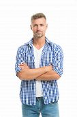 Fashion For Daily Life. Handsome Fashion Model. Feeling Casual And Comfortable. Menswear And Fashion poster