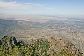 View Over Albuquerque, New Mexico
