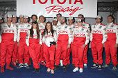 LOS ANGELES - APR 3:  Pro/Celebrity Race Participants at the 2012 Toyota Pro/Celeb Race Press Day at
