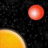 Sun Mars Planets Stars