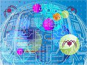 Futuristic  nanobots