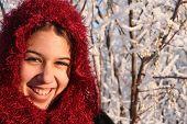 Smiling Ethnic Girl