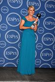 LOS ANGELES - JULY 14:  Lindsey Vonn  in the Press Room of the 2010 ESPY Awards at Nokia Theater - L