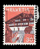 Swiss Post Stamp