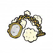 cartoon old locket