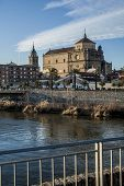 View of San Prudencio, Tagus River, Talavera, Toledo,