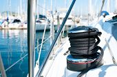 foto of nautical equipment  - Yacht - JPG