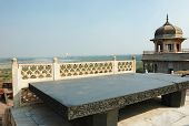 image of khas  - Throne of Jahangir  - JPG