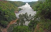 Aerial Murchison Falls Scenery