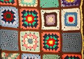 Colorful Crochet Quilt