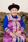 Senior Buryat (mongolian) Woman