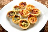 Appetizer; Mini Quiche