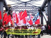 May One Workers Protest Rally