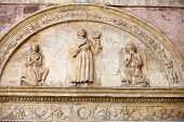 Basilica of Saint Francis Assisi . Umbria, Italy