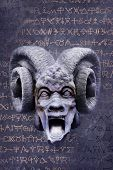 pic of baphomet  - Screaming goat - JPG