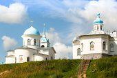 Orthodox nunnery of Tervenichi in Russia.