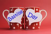 Share A Cup Of Coffee For France National Holiday Calendar, 14 July, Fourteenth Of July, Bastille Da
