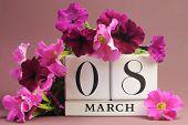 International Womens Day calendar