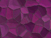 Violet Amethyst Stained Glass Abstract Background