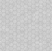 Gray Honey Comb Shape Fabric Background