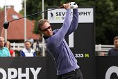 Nicolas Colsaerts at the Seve Trophy 2013