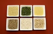 stock photo of legume  - Gluten free grains food  - JPG