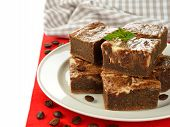 Chocolate Cake Brownies