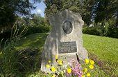 Grave Plate Of Ilya Schapov