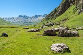 Beautiful View Of Echo's Valley In The Spanish Pyrenees
