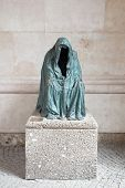 Sculpture Is Depicting Death