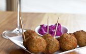Fried Hummus Balls