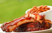 Bbq Ribs And Beans