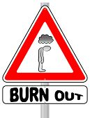 Burnout Warning Sign