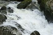 White Water On The Marteg River