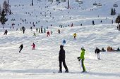 Skiing Flachau