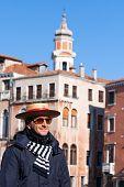 Gondolier Venice